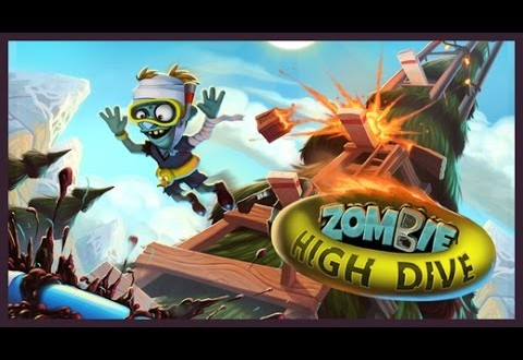 Astuces Zombie High Dive Triche ios android sans PC biscuits et cakes